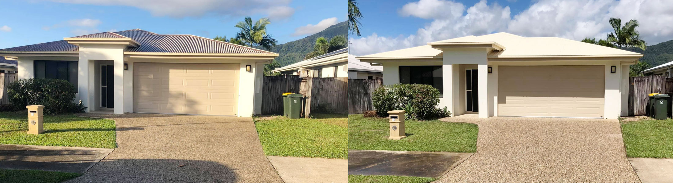 Cairns pressure cleaning houses