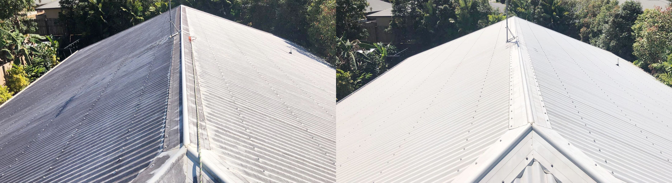 Cairns pressure cleaning roofs