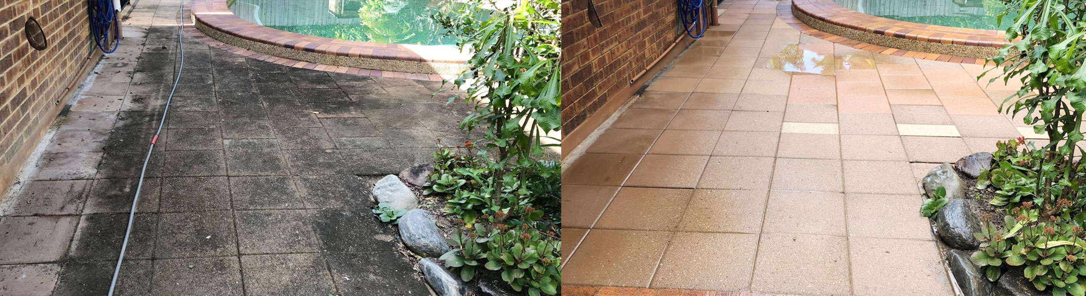 Cairns pressure cleaning paths
