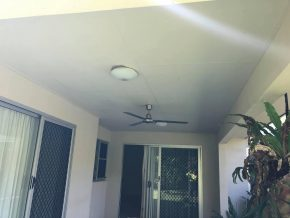Cairns pressure cleaning ceiling (after)