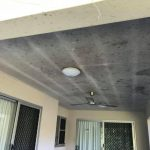 Cairns pressure cleaning ceiling (before)