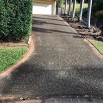 Cairns pressure cleaning driveways (before)