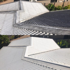 Cairns pressure cleaning roofs (Before & after)