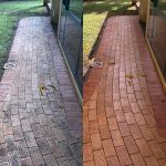 Cairns pressure cleaning paths (before and after)