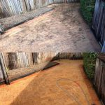 Cairns pressure cleaning driveways (before & after)