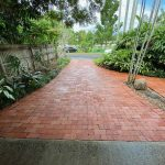 Cairns pressure cleaning driveways (after)